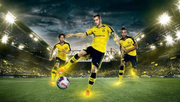 58a718fb50 Nova camisa do Borussia Dortmund