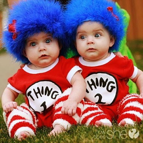 Fun Twin Baby Names Thing 1 thing 2