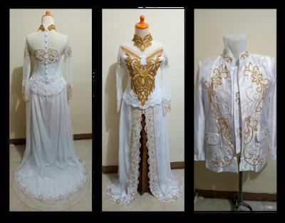Sewa Kebaya Gaun Pengantin Baju Akad Nikah Muslimah Modern Murah Jakarta 05
