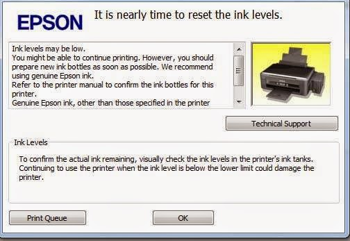 Cara Reset Manual Epson L130, L220, L310, L360, L365