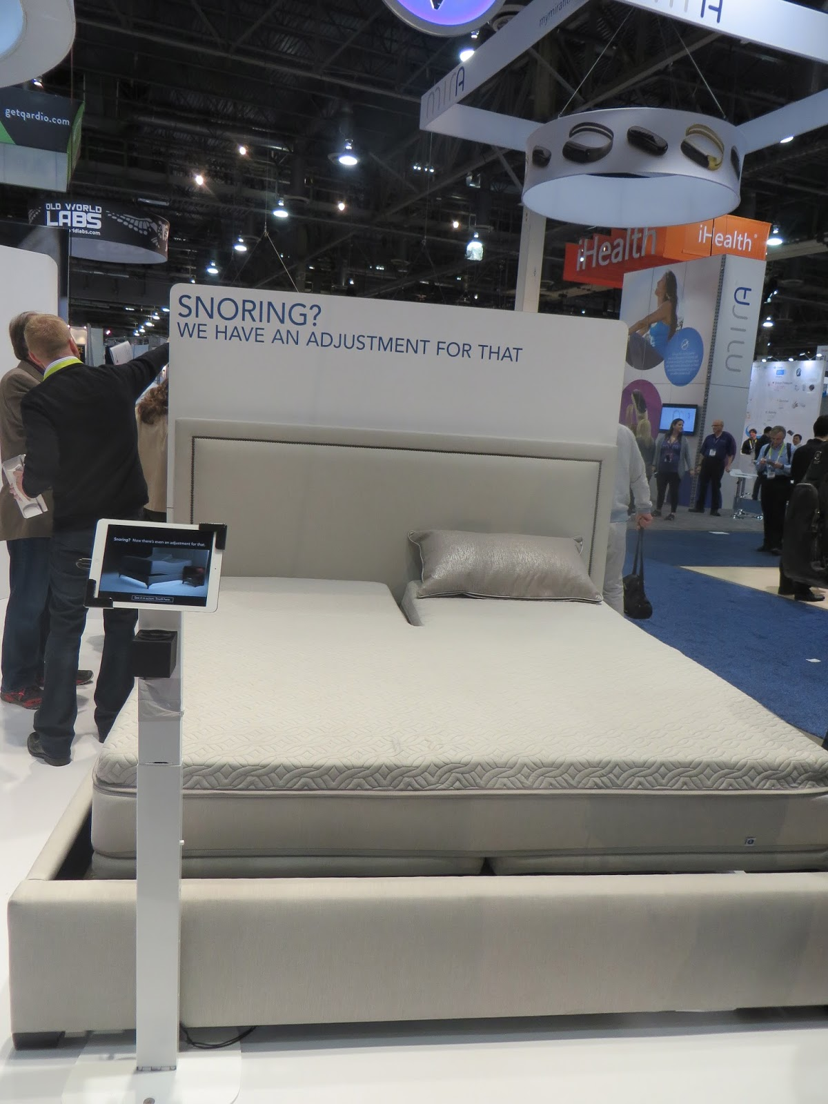 Ifit Sleepnumber Techy Beds W Functions Slumber Ces2015