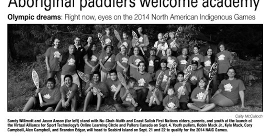 #TRC88: Aboriginal paddlers welcome academy. #Olympic dreams, am I a Normal person?