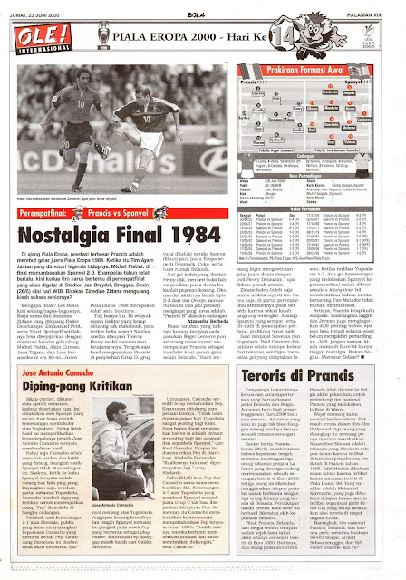 PEREMPATFINAL PRANCIS VS SPANYOL NOSTALGIA FINAL 1984