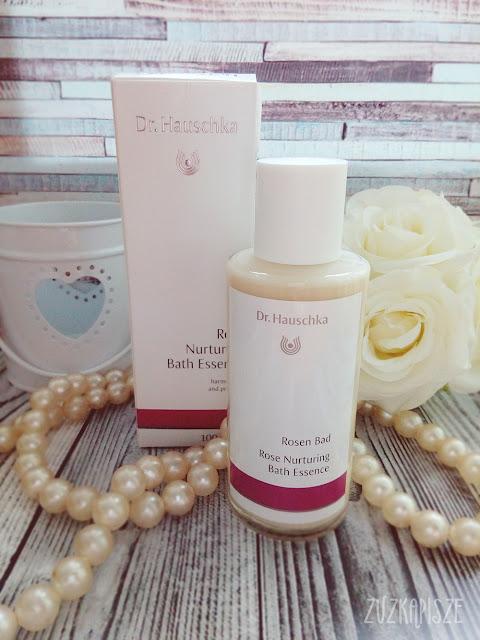 Kremowy olejek do kąpieli z płatków róży - Dr. Hauschka