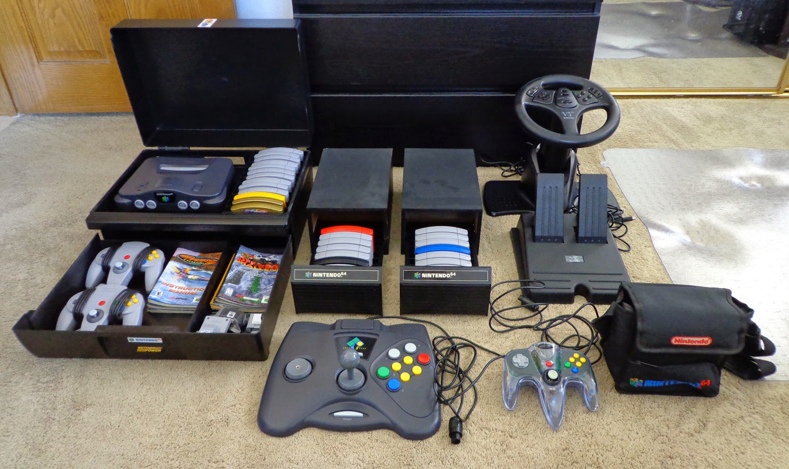 Watchmeplaynintendo Mike S 2015 Boxed Nintendo 64 Collection