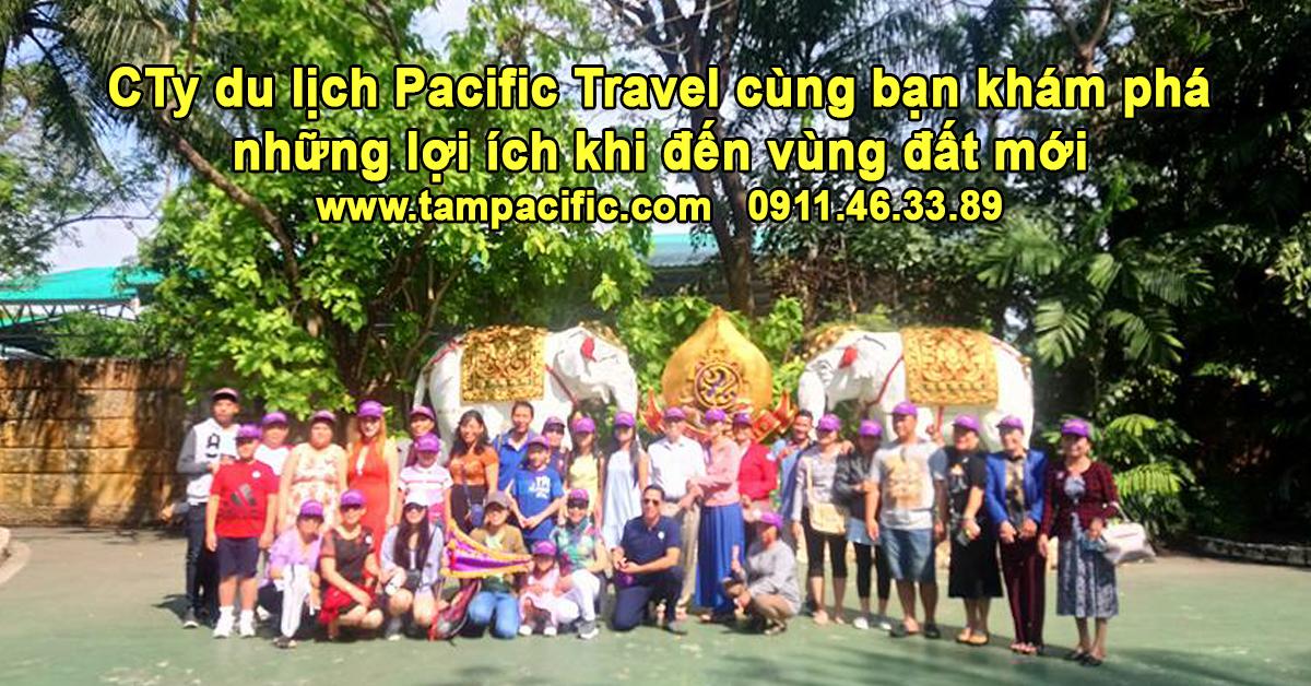 CTy du lịch Pacific Travel cùng bạn khám phá các lợi ích khi đến vùng đất mới