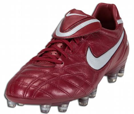 Fahrenheit Hecho un desastre masilla  Soccer Bumble: Nike Tiempo Legend Elite Football Boots – Team Red/Metallic  Silver