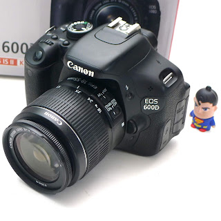 Kamera DSLR Canon 600D Fullset Di malang