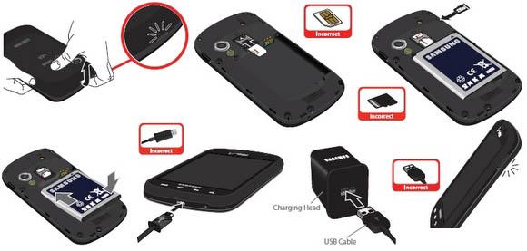 User Manual Samsung Stratosphere SCH i405 Galaxy S 4G LTE Verizon