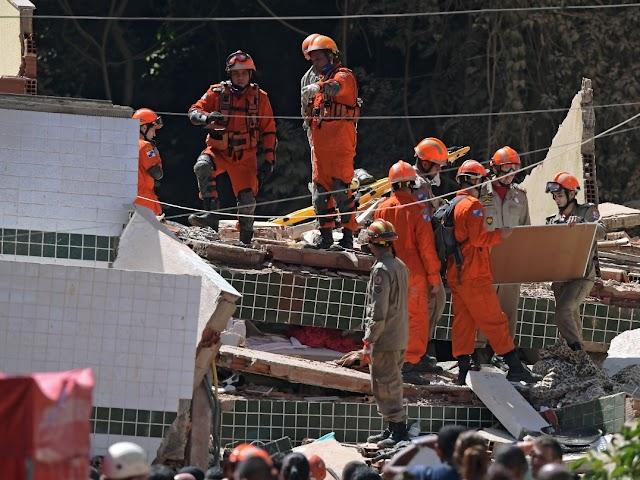 Filho e ex-esposa de cearense estão entre os mortos em desabamento no Rio de Janeiro