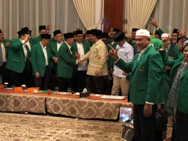 Terima Dukungan PPP, Prabowo Bakal Menangkan Pilpres