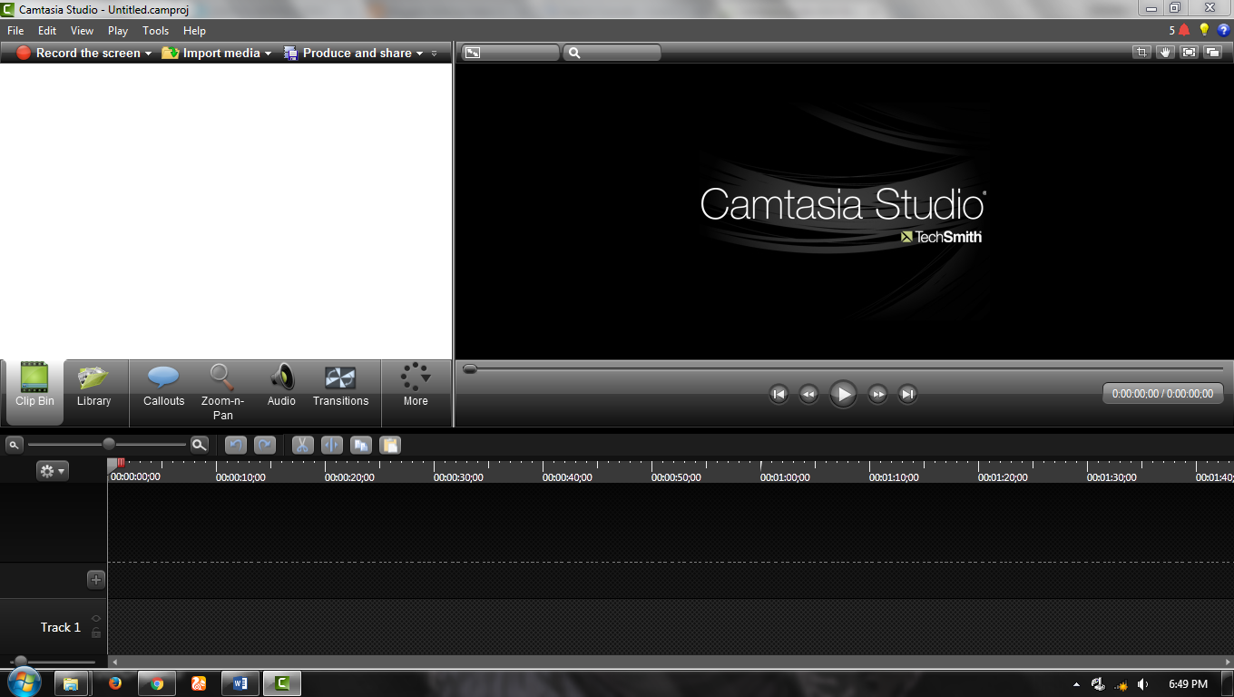TECHSMITH CAMTASIA STUDIO 8