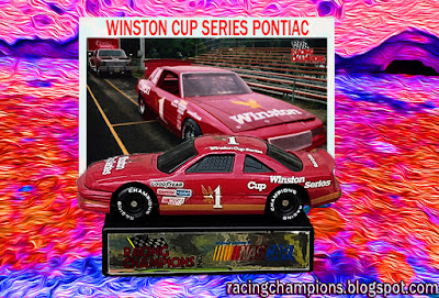 Winston Cup Series #1 Cup Racing Champions 1/64 NASCAR diecast blog Howw Mfg. Inc. Cigarettes Bill France