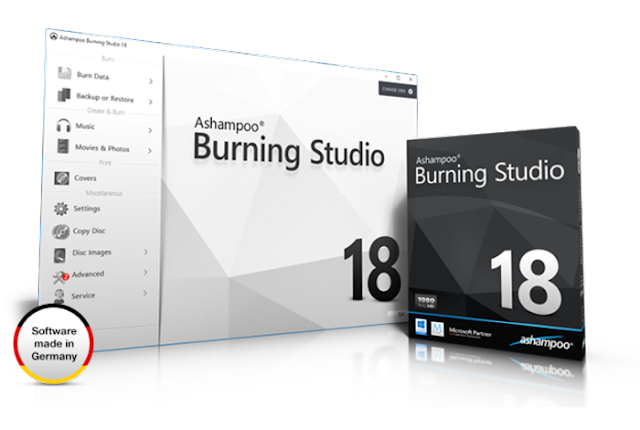Ashampoo Burning Studio Terbaru