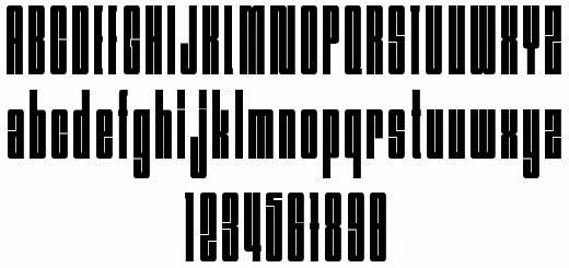 Nagasaki Font Preview