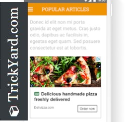 google adsense native ads in artical