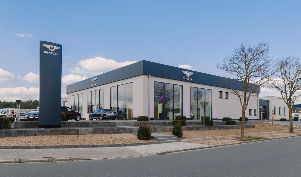 Bentley opens new showroom in Nuremberg