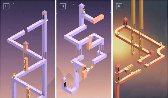 Game puzzle android - Memecahkan teka-teki Monument Valley