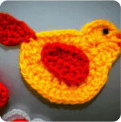 Pajarito a Crochet