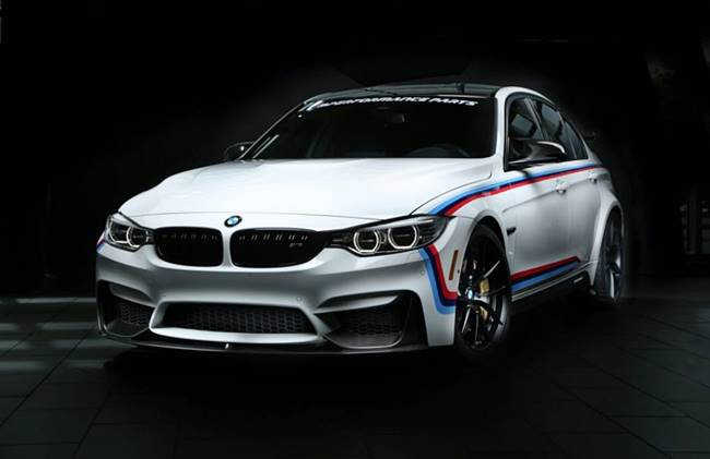 BMW M Performance: Tuning accessories for SEMA 2016