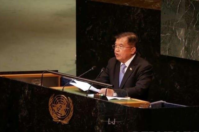 Wapres JK Jawab Kritikan Prabowo Terkait Utang Negara