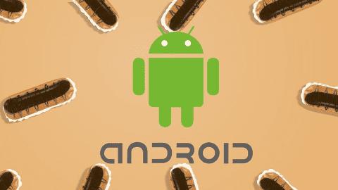 Eclair adalah nama Android E