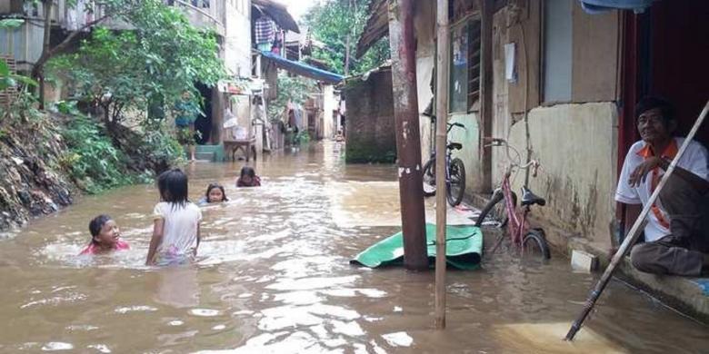 Ahok kembali jadi Gubernur, Jakarta langsung banjir