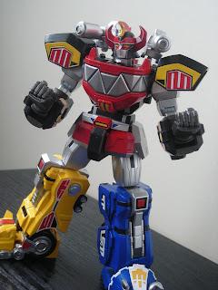 Super Robot Chogokin Daizyujin Megazord 05