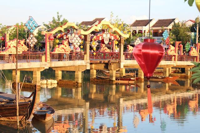 Hoi An Vietnam, Thu Bon Fluss
