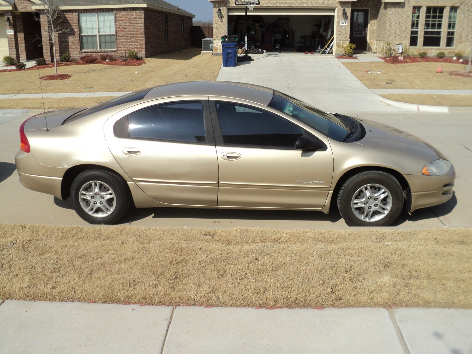 1999 dodge intrepid gold exterior tan gold cloth interior 97 xxx original miles good solid car for under 4000 asking 3995 [ 1600 x 1200 Pixel ]