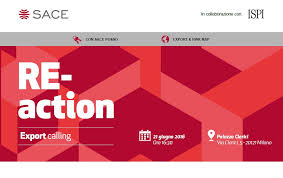 RE-action. Export calling. SACE presenta Rapporto Export