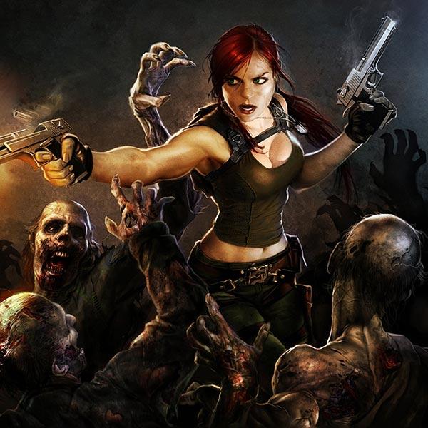 Zombie Hunter Wallpaper Engine