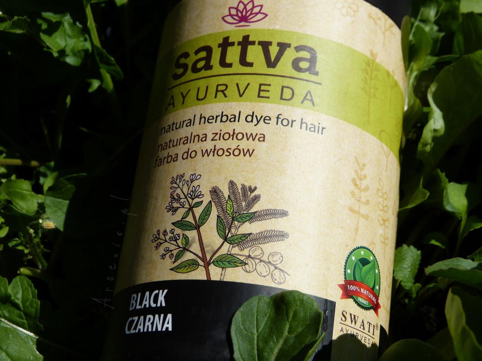 Farba Sattva Ayurveda - wielki powrót do farb roślinnych. Skład, sposób farbowania i efekty.