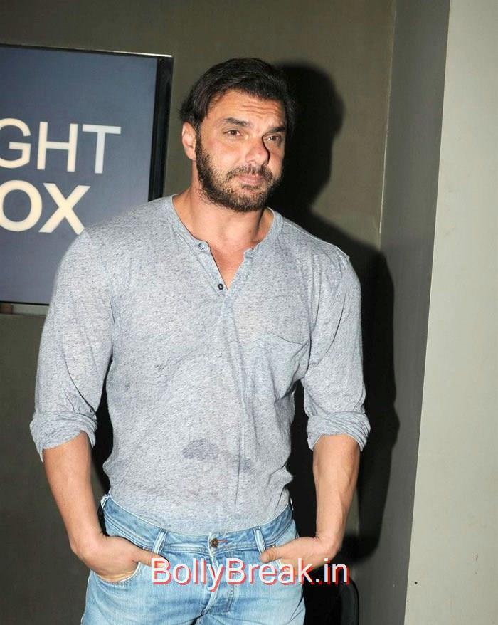 Sohail Khan, Dia Mirza Hot Pics at 'Tanu Weds Manu Returns' Special Screening