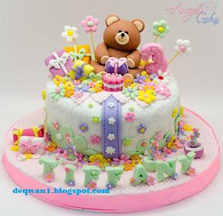kue ulang tahun cewek unik