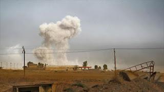 Bombardeo Mosul Conjugandoadjetivos