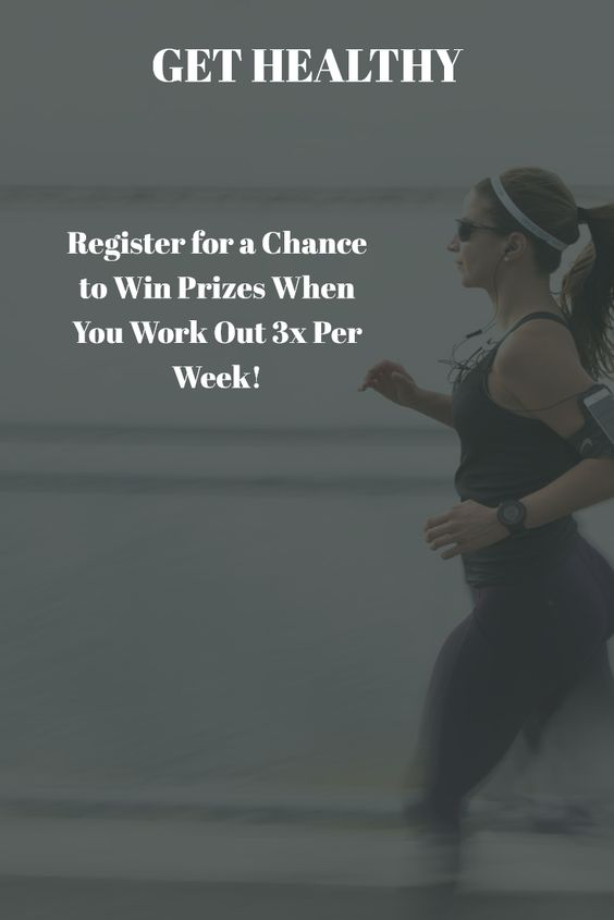 Take this workout challenge for a chance to win prizes while getting healthy
