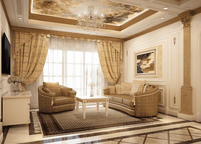 Nội thất phòng khách La roma