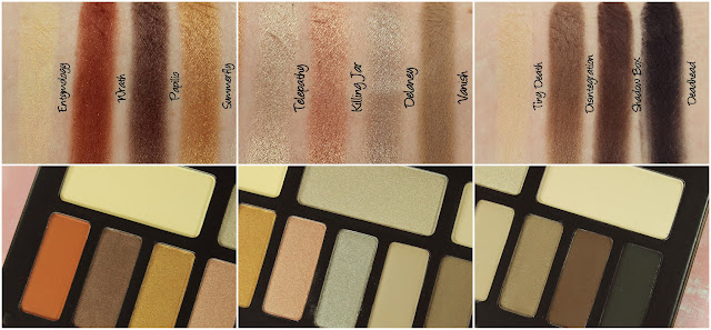 Kat Von D Monarch eyeshadow palette swatches & review