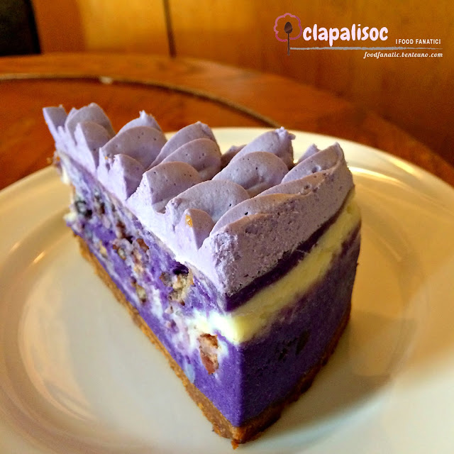 Purple Yam Cheesecake by Starbucks PH