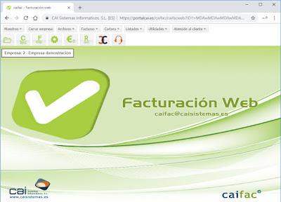 Software para facturar CAIFAC - CAI Sistemas