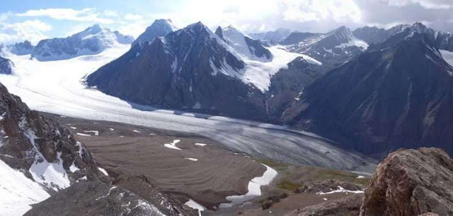 No glaciers, no water?