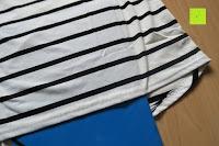 nicht durchsichtig: Yidarton Damen Rundhals Gestreift Stretch Basic T-Shirt Oberteile Langarmshirt Loose Bluse Tops