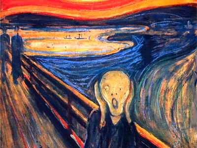 """أسرار لوحة الصرخة """"The Scream"""""""