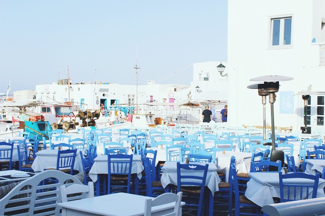 Paros taverns and ouzeries