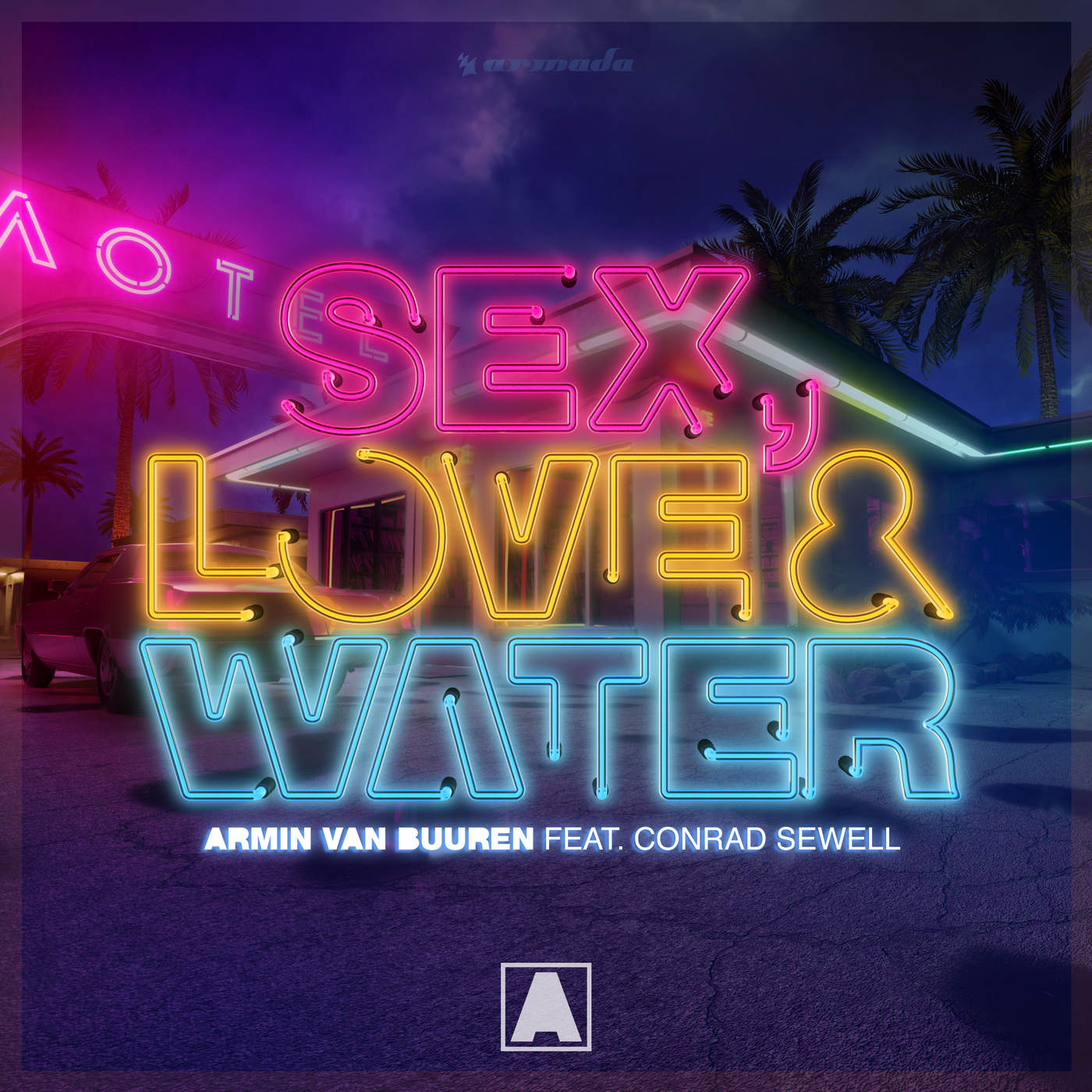 Armin van Buuren - Sex, Love & Water (feat. Conrad Sewell) - Single Cover