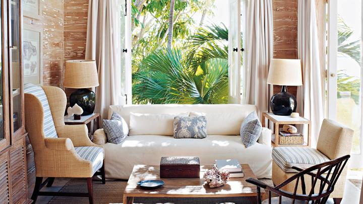 Decorar a sala com um sof branco decora o e ideias for Decorar mi centro de estetica