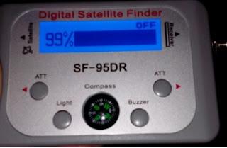 pointeur numérique de satellite