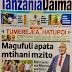 HAYA HAPA MAGAZETI YA LEO JUMATANO JANUARI 24,2018 - NDANI NA NJE YA TANZANIA