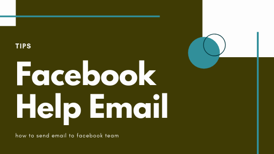 Email Contact For Facebook<br/>
